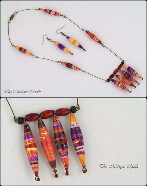 pattern paper beads paper bead jewelry sets pattern paper bead patterns and