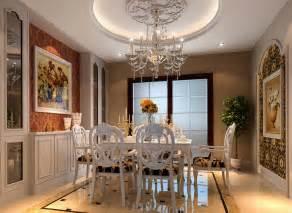 classic european style dining room interior design 2014