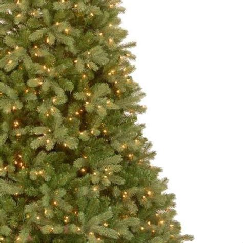 price of real christmas trees at home depot 7 5 ft feel real downswept douglas fir artificial tree with 750 clear lights pedd4