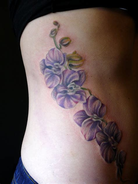 blue orchid tattoo orchid tattoos designs ideas and meaning tattoos for you