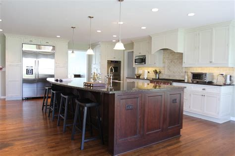 awesome large kitchen islands with seating my home