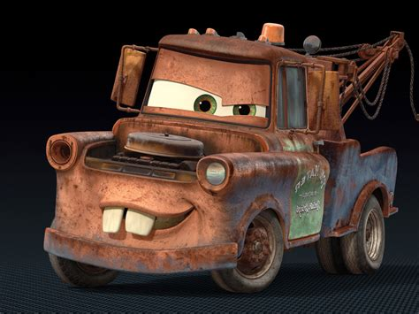 cars characters mater images of mater from cars mater the old tow truck from