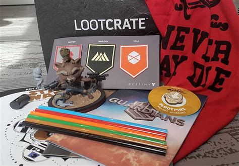 Lootcrate April 2017 lootcrate may 2017 guardians all subscription boxes uk