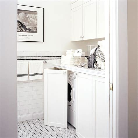 concealed washer and dryer hidden washer and dryer contemporary laundry room