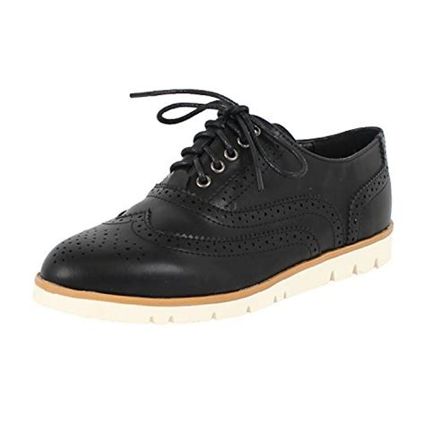 platform oxford shoes womens 187 womens lace up wingtip low platform oxford shoe oxfords
