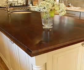 Wood Look Countertops Choosing Wood Countertops