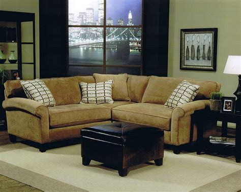 sectional in small living room modern house