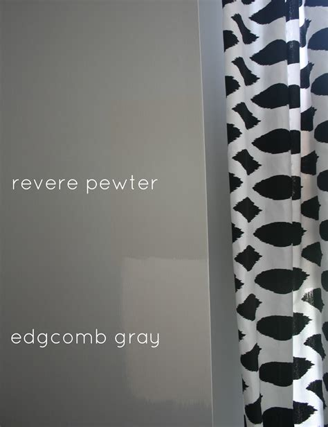 revere pewter color swatch combinations living room benjamin engineering and style