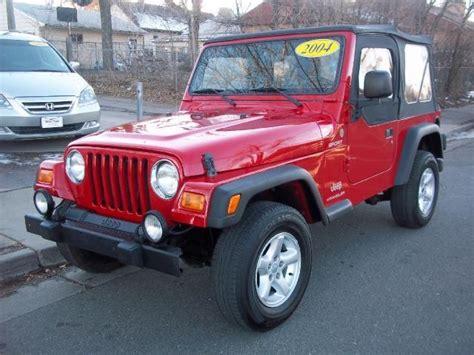 Denver Jeep 2004 Jeep Wrangler Tj Sport Sport Suv 2 Doors For Sale