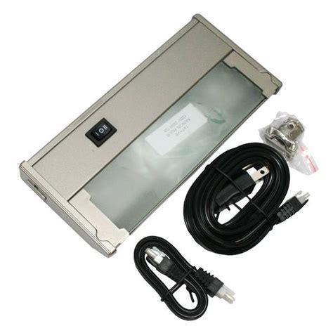 xenon cabinet light bulbs westek 61197 20 watt xenon cabinet light nickel