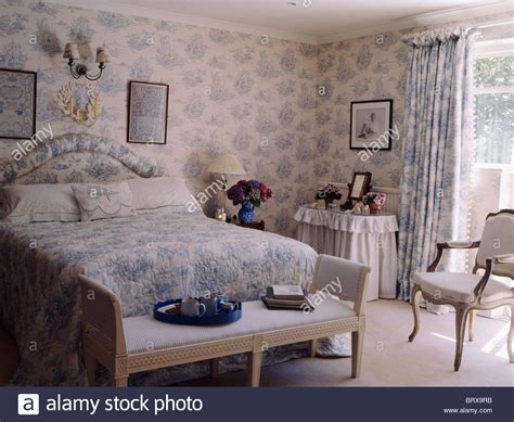 toile de jouy curtains blue blue white toile de jouy wallpaper with matching curtains