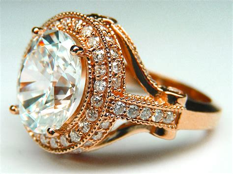 gold oval ring hd rosepink gold engagement