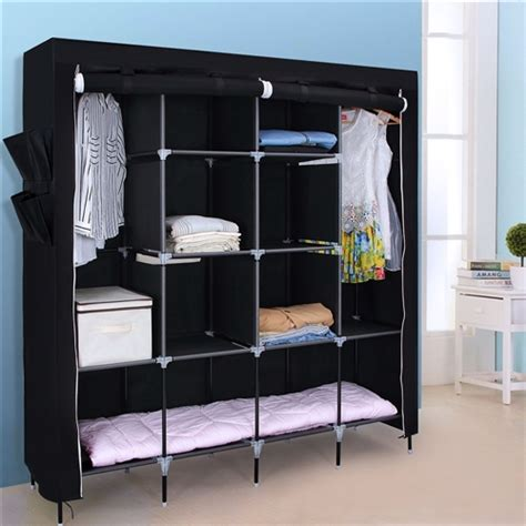 portable bedroom wardrobe clothes storage closet fastfurnishingscom