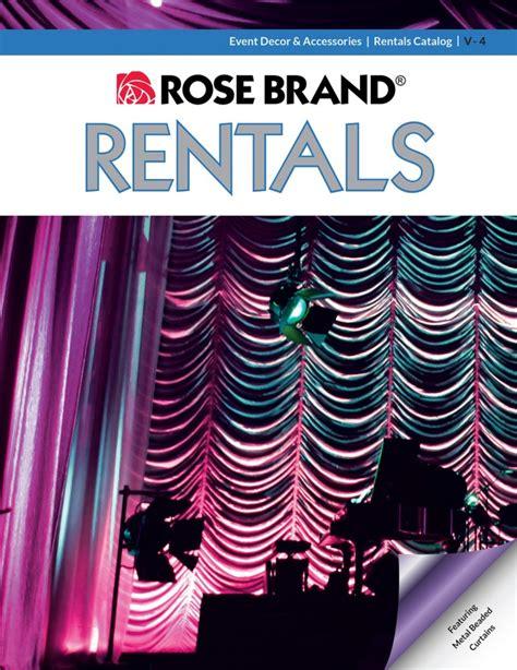 rose brand pipe and drape rosebrand com