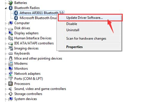 install windows 10 bluetooth driver qualcomm atheros bluetooth driver not working on windows