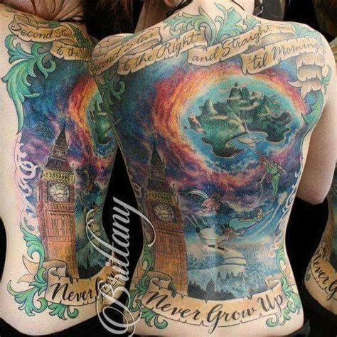 neverland tattoo 70 best tats images on