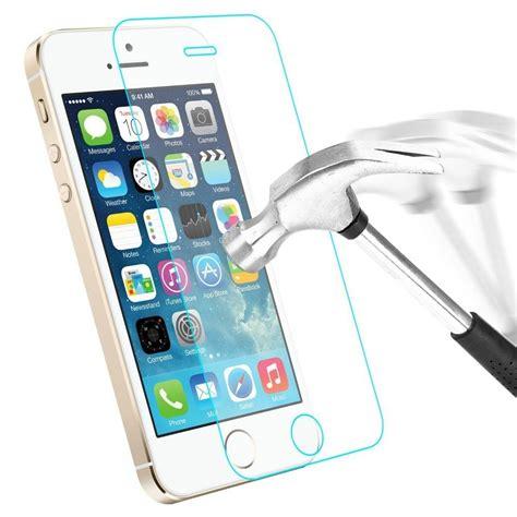 protecteur protection 233 cran en verre tremp 233 iphone 5 5e 5