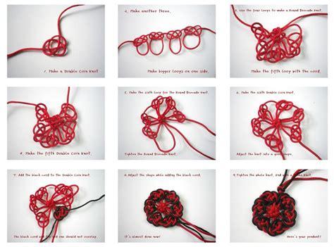 Handmade Tutorials - handmade diary knotting pendant harmony brings