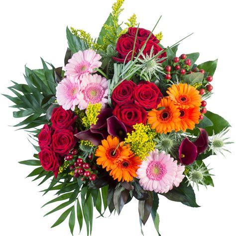 mooie bos bloemen bezorgen gemengd boeket met prachtige bloemen en een cadeaukaartje