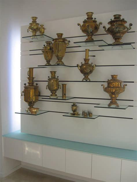 eiesland  floating glass display shelf
