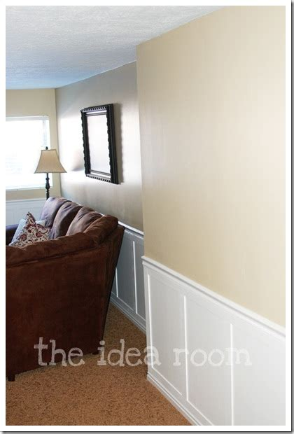Faux Wainscoting by Faux Wainscoting Diy Version 2 The Idea Room