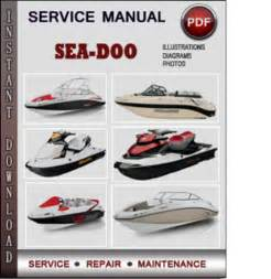 sea doo gti gtx 4 tec 2006 2007 factory service repair