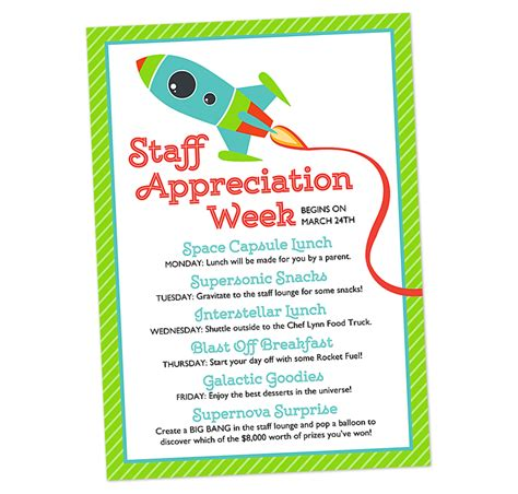 appreciation week 2014 letter to parents scrapaholics 187 space themed staff appreciation week invitation