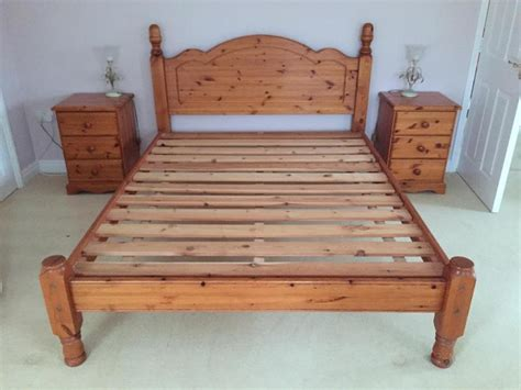 5ft King Size Pine Bed Frame In Ryde Wightbay King Size Pine Bed Frame