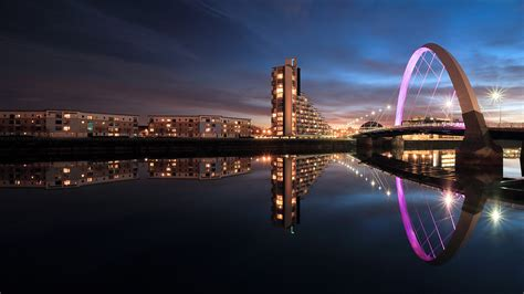 nights in glasgow cityscape photography scottish landscape and
