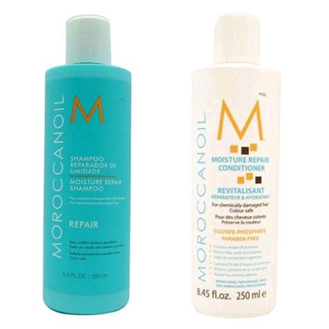 best smelling hair conditioner moroccanoil moisture repair shoo conditioner combo