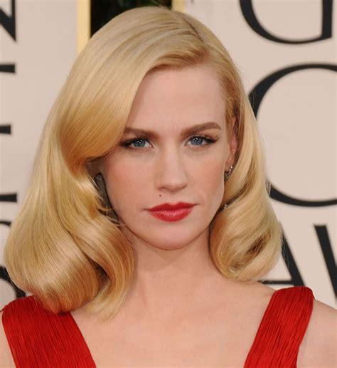 january jones actress hairstyles januaryjones hair hair and beauty pinterest january