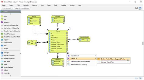 er model tool entity relationship diagram erd tool for data modeling