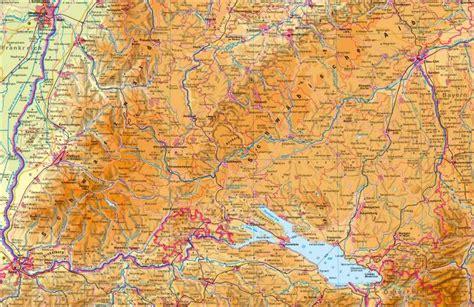 gebirgskarte deutschland diercke weltatlas kartenansicht baden w 252 rttemberg