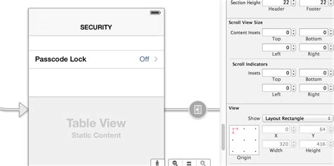 uitableview layout update objective c ios7 uitableview y position grayed out