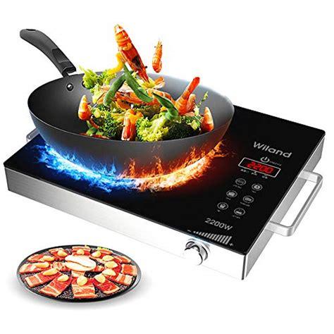 portable induction cooktop countertop burner  watt