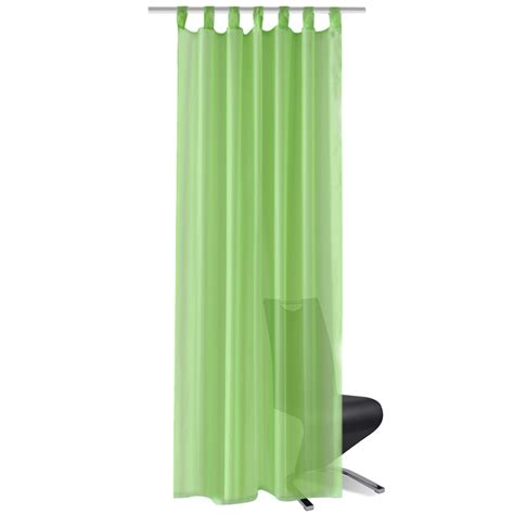 apple green curtains vidaxl co uk apple green sheer curtain 140 x 175 cm 2 pcs