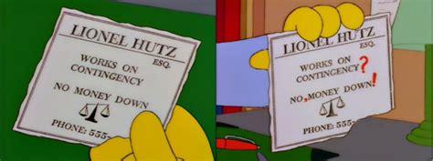 Lionel Hutz Business Card