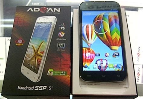 Usb Otg Advan Harga Advan Vandroid S5p Android 5 Inci Dengan Koneksi