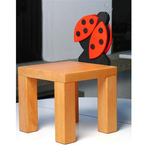 sedia in legno per bambini sedia in legno per bambini coccinella in legno di faggio