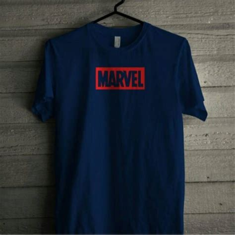 Kaos Marvel kaos marvel shopee indonesia