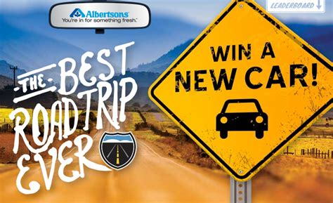 Free Car Giveaway 2014 - albertsons best road trip ever giveaway expired mama likes this