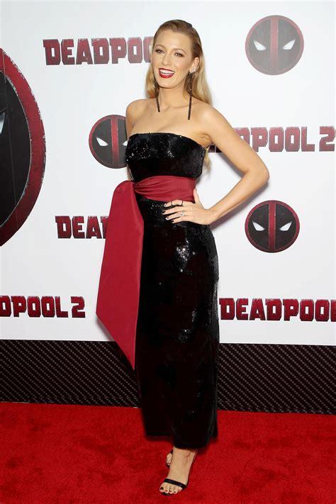 deadpool 2 carpet premiere lively deadpool 2 premiere in new york city