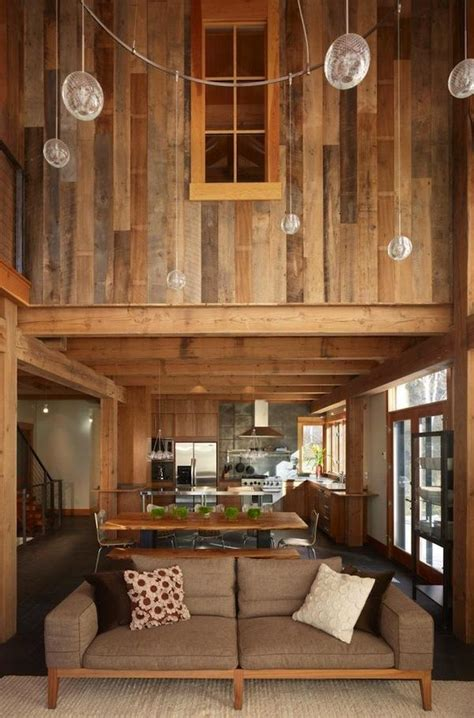 wood interior homes modern lodge style guide 212 concept modern living