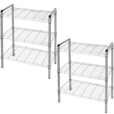 the of storage 23 in 3 tier rack adjustable