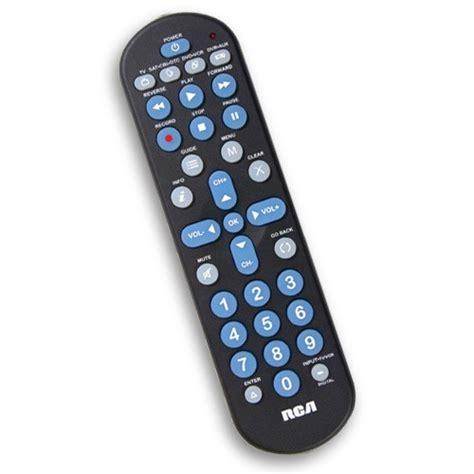 rca  device big button universal remote rcrr