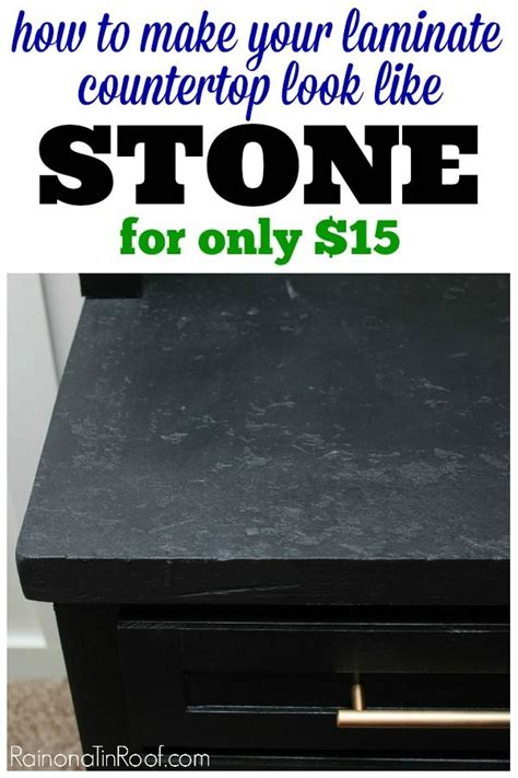 How To Do A Soapstone - how to make laminate countertops look like