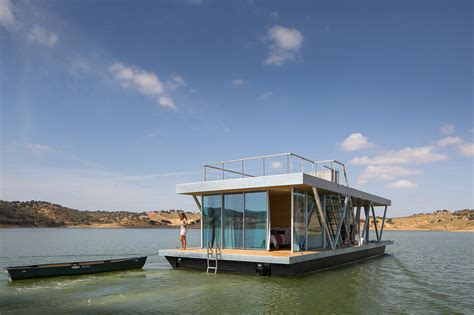 friday develops modular floating house for weekend getaways friday develops modular floating house for weekend getaways