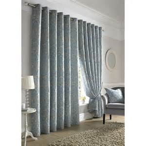 blue lined curtains bedroom kew blue lined curtains damask pattern ready made