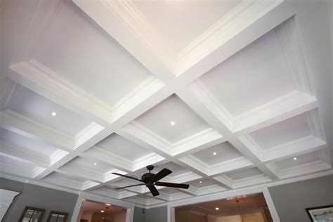 Decorative Ceiling Panels Home Depot by Coffered Ceiling Design Ceiling Beams Coffer Ceiling