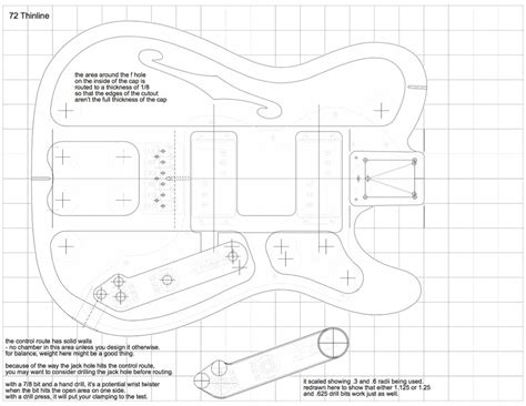telecaster guitar template choice image templates design
